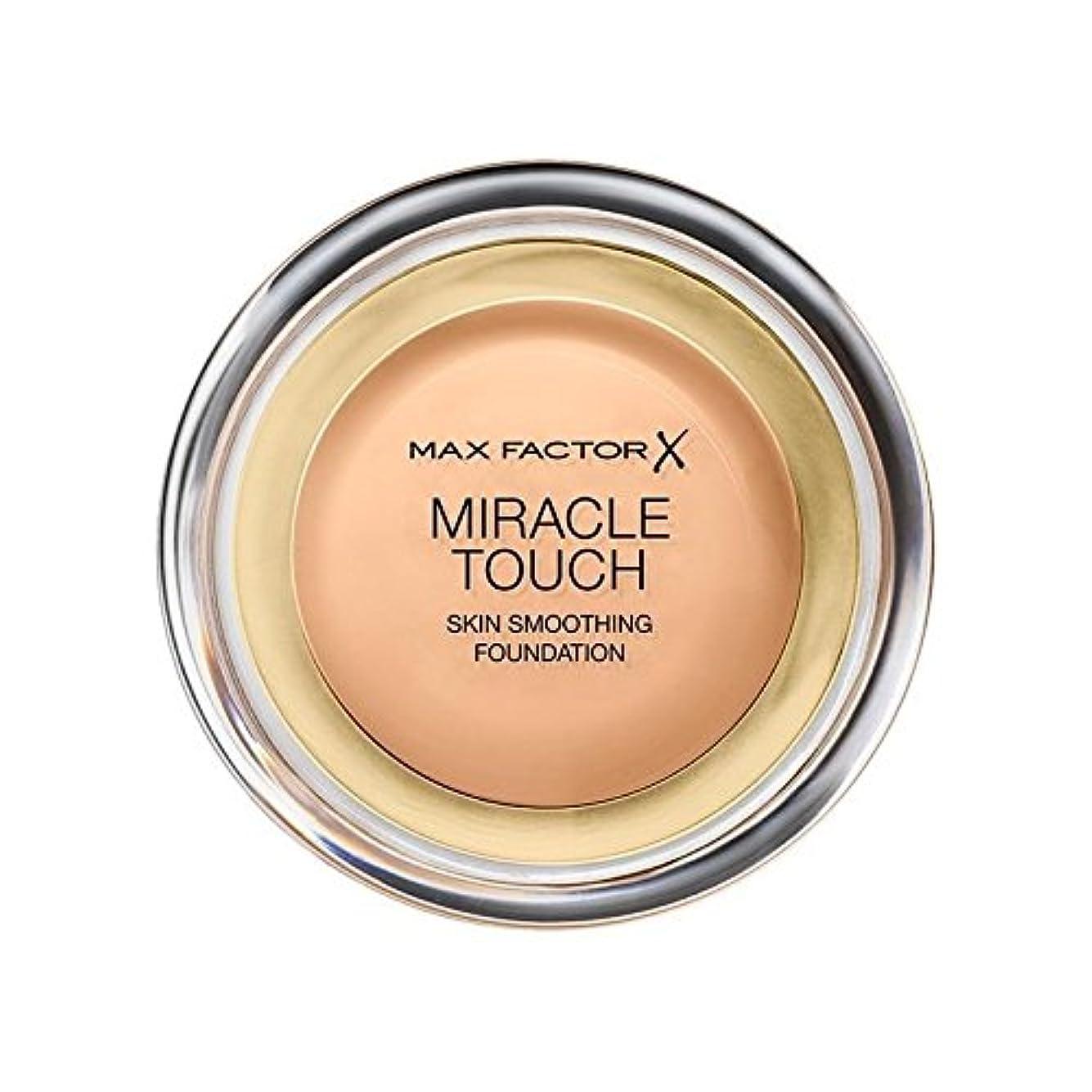 翻訳開発する早くマックスファクターの奇跡のタッチ基盤黄金の75 x4 - Max Factor Miracle Touch Foundation Golden 75 (Pack of 4) [並行輸入品]