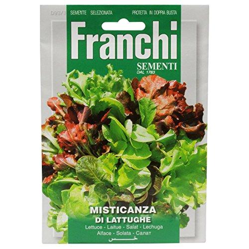 Seeds of Italy Franchi Graines de laitues Mixtes