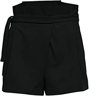 ONLY Women's Synthetic Shorts (15154931- Black_36)