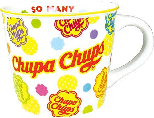 ティーズファクトリー マグカップ カラー ライン マグ チュッパチャプス ドット 9.1×7.5×9.1cm CC-5524498DT