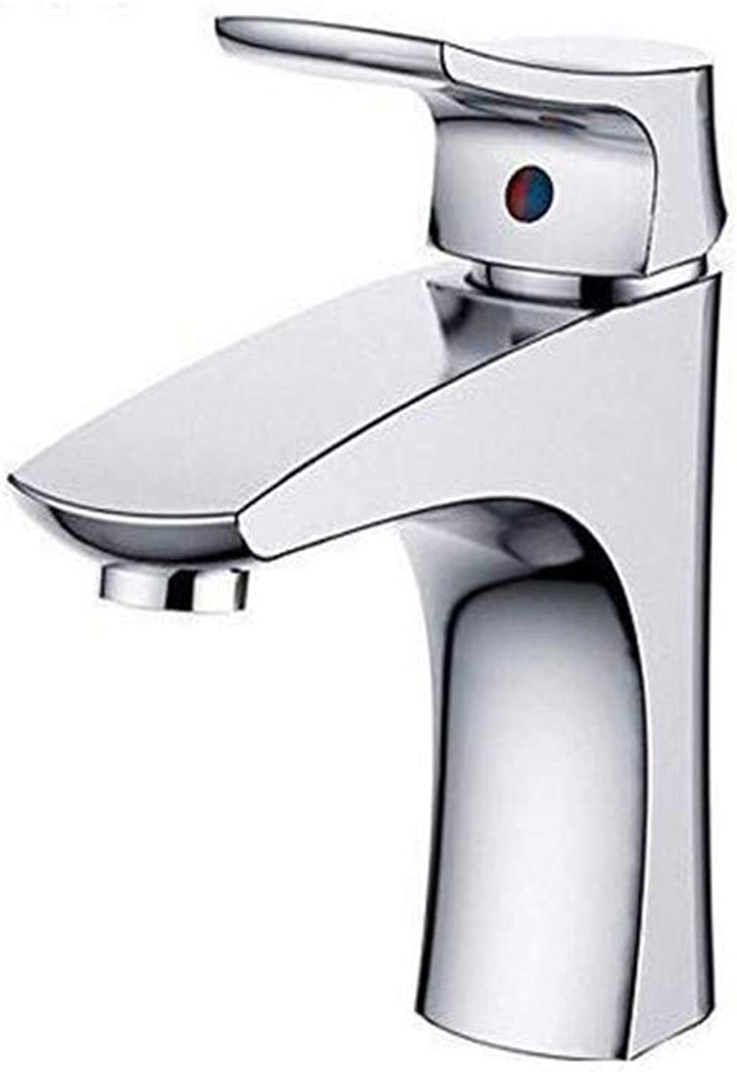 Faucet Chrome Brass Retro Taps Basin Mixer Waterfall Bathroom Chrome Cold and Hot Water Tap Deck Mounted Taps