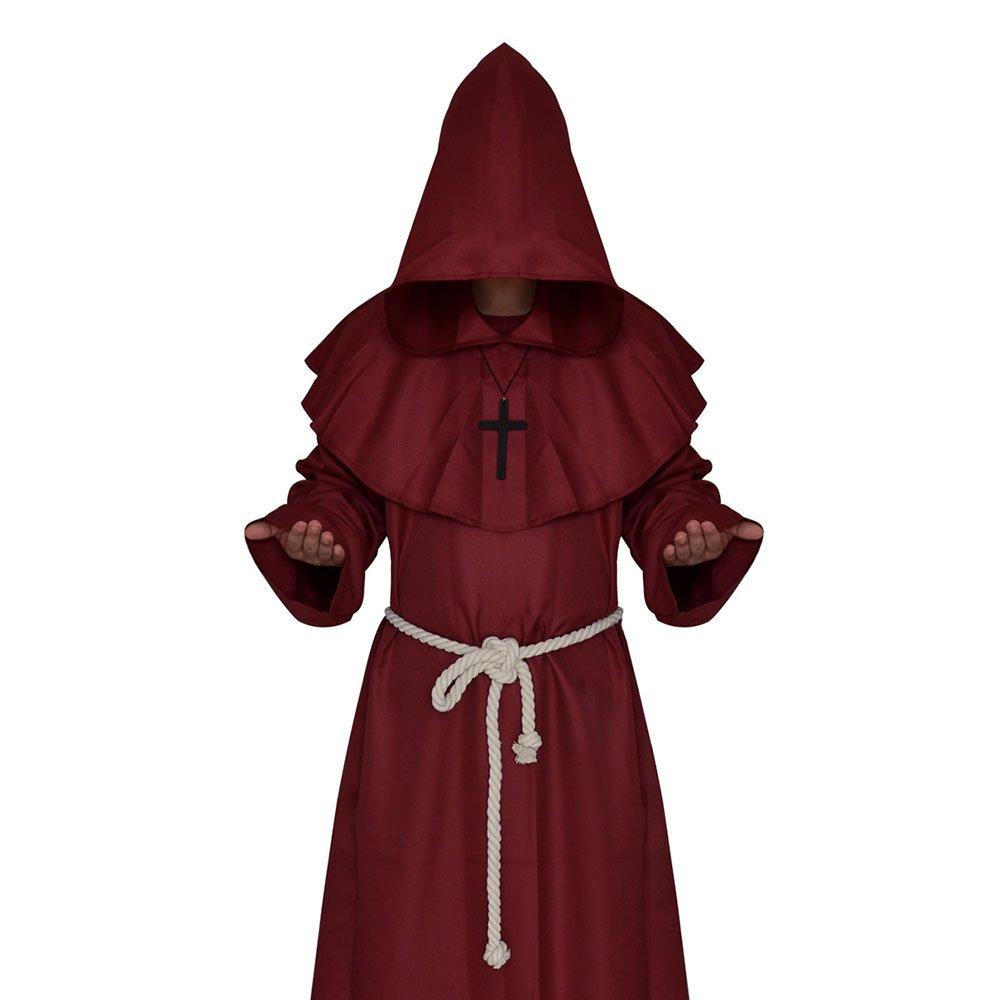 babytowns Disfraz de Halloween Medieval, Capa de Capa con Capucha ...