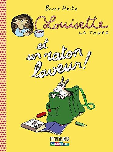 Louisette la taupe, Tome 4 : Louisette la taupe et un raton laveur !