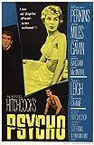 Theissen Psycho 1960 Cult Vintage Horror Film Movie Poster