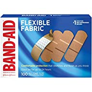 Band-Aid Brand Flexible Fabric Adhesive Bandages for Minor Wound Care