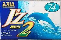 AXIA カセットテープ J'z 74分 ハイポジ JZ2F 74