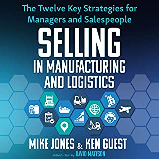 Selling in Manufacturing and Logistics audiobook cover art