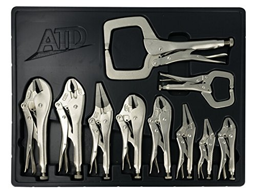 ATD Tools 15000 Locking Pliers Set, 1 Pack