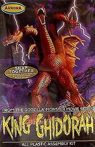 King Ghidorah Model Kit Polar Lights Aurora From Godzilla