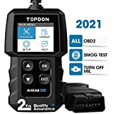 TT TOPDON OBD2 Scanner OBD2 Car Engine Fault Code Reader AL300 Diagnostic Scan Tool with Full OBD2 Functions Turn Off Check Engine Light Check Emissions for DIY Home Mechanics obd2 Feb, 2021