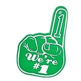 PEPCO POMS Kelly Green We're Number One Fan Foam Finger