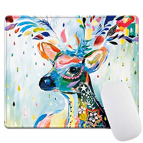 Thick 3mm Gaming Mouse Pad - Personality Mouse Pads with Design - Non Slip Rubber Mouse Mat (Beer)
