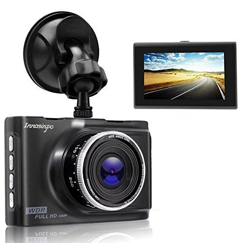 Armaturenbrettkamera, HD, 1080p, DVR-Fahraufnahme, mit Nachtsicht, G-Sensor-Bewegungserkennung, Parkplatz-Monitor, Loop-Aufnahme, 140-Grad-Weitwinkel
