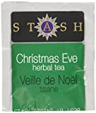 Stash Tea Christmas Eve Herbal Tea 100 Count Tea Bags in Foil (packaging may vary) Individual Spiced Herbal Tea Bags for Use in Teapots Mugs or Teacups, Brew Hot Tea or Iced Tea