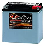 Deka ETX14L Powersports AGM Battery - 100%