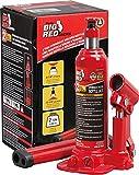 BIG RED TAM90203B Torin Hydraulic Welded Bottle Jack, 2 Ton (4,000 lb) Capacity,...