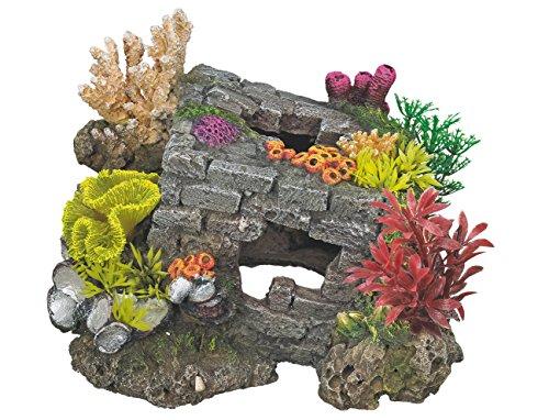 Nobby Aqua Décoration Briques Grises pour Aquariophilie 200 x 185 x 155 mm