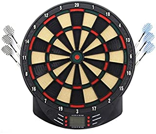 Toys&Hobbies 2 PCS 15 Inches Electronic Liquid Crystal Display Score Showing Score Dart Board