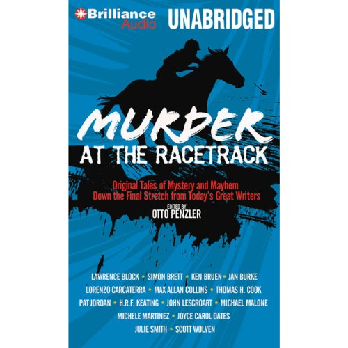 Murder at the Racetrack audiobook cover art