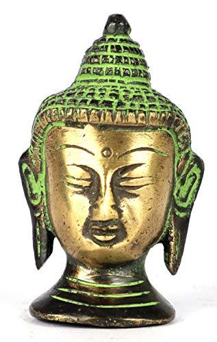 ASHIRWAD Gautam Buddha Brass Idol Statue Sculpture for Home Decor, Pooja, Vastu (Buddha-11)