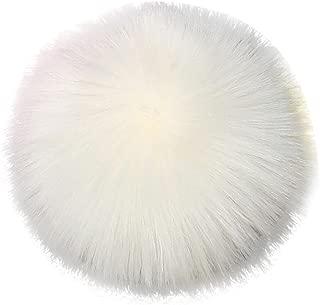 OVERMAL DIY Faux Fox Fur Fluffy Pompom Ball for Knitting Hat Hats