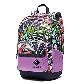 Columbia Zigzag 22L Backpack Urban Pack Laptop Sleeve White Toucanical/Blossom Pink One Size