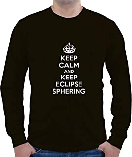 Custom Brother - Keep Calm and Keep Eclipse SPHERING SPOR Sports Men`s Long Sleeve Shirt Top