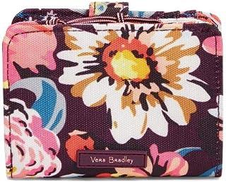 Vera Bradley Lighten Up RFID Small Wallet in Indiana Blossoms