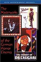 Masterworks Of The German Horror Cinema: (Nosferatu / The Cabinet of Dr. Caligari / The Golem)