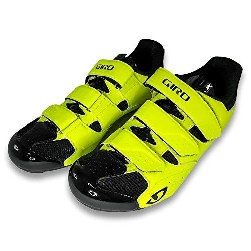 Giro (ジロ) Techne Road Ride Shoes ロードバイク ビンディングシューズ (27cm(EU42), Yellow) [並行輸入品]