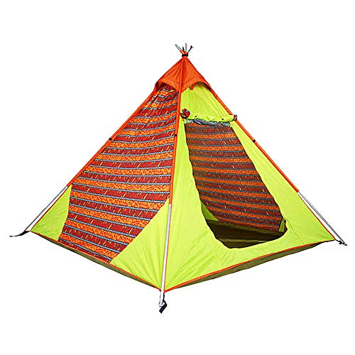 HUOFEIKE Large Family Camping Pop-Up Tent 4-5 Person Updated Version Instant Setup Hydraulic Tents Double Layer Waterproof Dome Tent with Carry Bag,B1