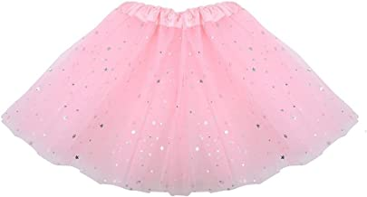 Domybest 3-8 Years Old Dance Tutu Skirt Toddler Kids Girls Ballet Clothes Dancewear Dresses (Pink)