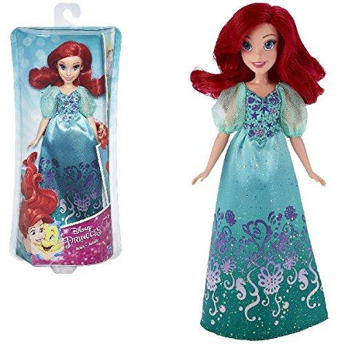 Hasbro Disney Prinzessin B5285ES2 - Schimmerglanz Arielle, Puppe