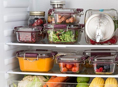 Kilner – Dispensador de bebidas de cristal para frigorífico, con