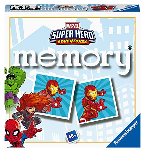 Ravensburger Marvel Avengers - Mini Memory Game for Kids age 3 years and up