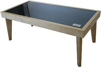 【DHTCT-90 組立商品】 (NVH ネイビーヘリンボーン)【ハリスツイード】【プラスリビング】 アウトレット家具 テーブル ガラスセンターテーブル ローテーブル コーヒーテーブル リビングテーブル 北欧 カジュアル おしゃれ