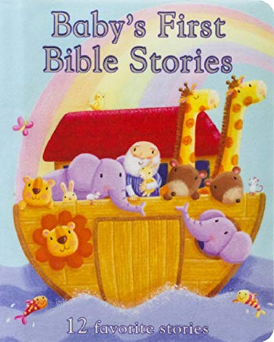 Baby's First Bible Stories Padded Board Book - Gift for Easter, Christmas, Communions, Newborns, Birthdays, Ages 1-6