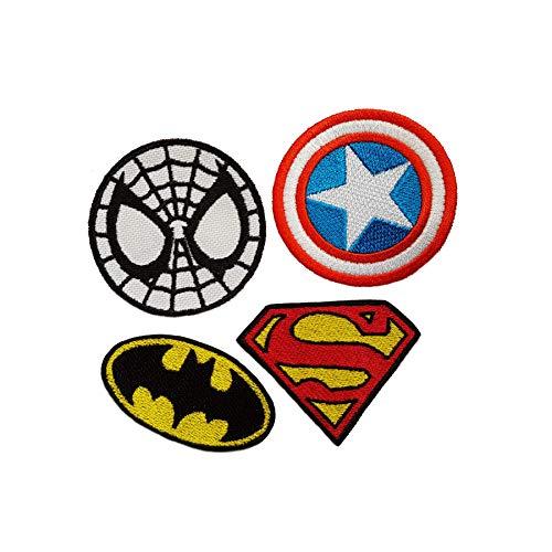 Emporium borduurwerk Superhelden Iron op geborduurde patches voor partij kostuums Jeans Applique Cartoon Jacket Badge Bag