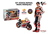 Tavitoys métal–Moto GP Racing Honda Repsol Marc Marquez échelle 1: 10,...