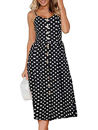 Women's Summer Spaghetti Strap Sundress – 3XL -$11.73(49% Off)
