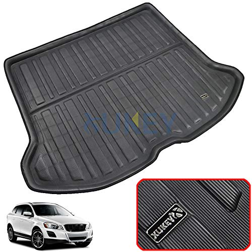 XUKEY for Volvo XC60 2009-2017 Cargo Liner Boot Rear Trunk Mat Tray Floor Carpet Luggage Tray Mud Kick Pad Tailored
