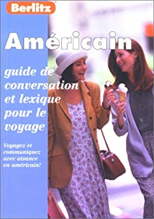 Berlitz US English Phrase Book for French Speakers