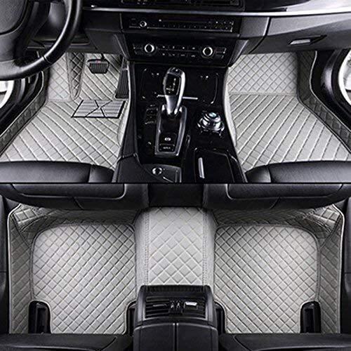 Auto-Fußmatten for Mercedes alle Modelle cla amg W212 W245 glk gla gle gl x164 vito W639 s600 Automatten Autozubehör, grau lcmaths (Color : Gray)