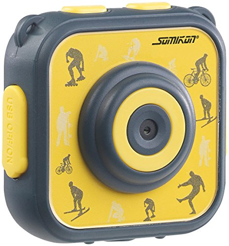 Somikon Kinderkamera Unterwasser: Kinder-HD-Actioncam mit Unterwasser-Gehäuse & 6 virtuellen Foto-Rahmen (Action Kamera Kinder)