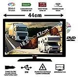 Combine TV/DVD pour Camping Car Camion Fourgon 18,5' 47cm 12V 24V - MOBIL VISION...