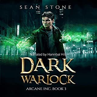 Dark Warlock audiobook cover art