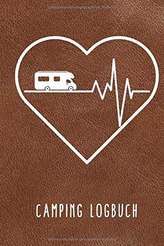CAMPING LOGBUCH: Camping Logbuch punktiert für Reisen mit Camper, Van, Wohnwagen oder Wohnmobil zum Eintragen | Reisetagebuch | Vanlife Zubehör | Wohnmobil Geschenk