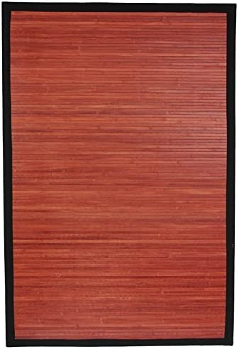 Oriental Furniture Bamboo Rug - Los Angeles Mall 3' Our shop most popular x Mahogany 2'