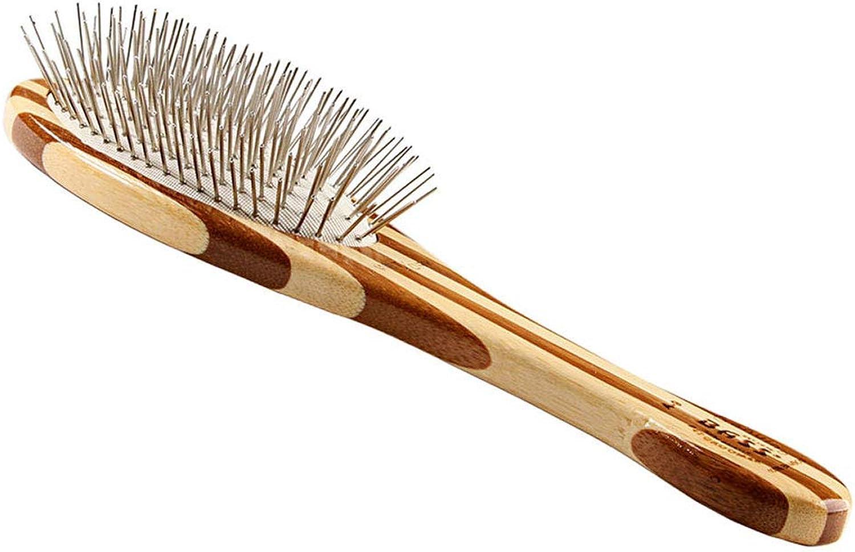 Bass Brushes Bass Wire Pet Groomer  Medium Oval