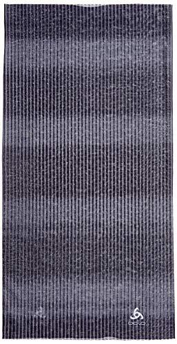 Odlo Tube Printed Schlauchschal, Graphite Grey-AOP SS19